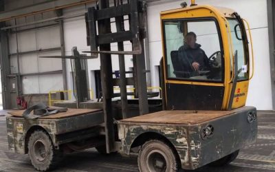 Worker killed by forklift truck